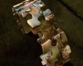 jigsaw puzzle bracelet