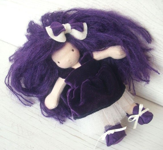 Waldorf  Doll 7 inch - Jessica