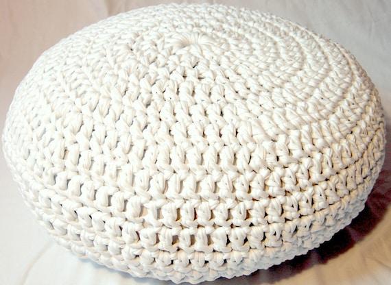 crochet pouf pattern pdf
