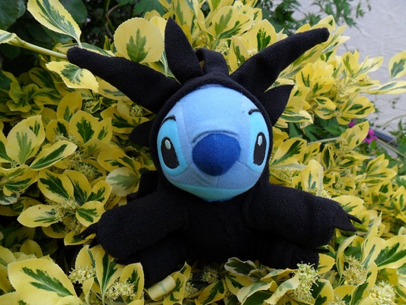 Stitch as Toothless Plushie