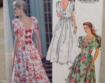 1991 Uncut Butterick Pattern 5492 Misses Dress Size  6-8-10-12