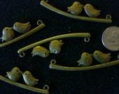 Bird pendants Qty 5