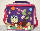 Purple Owl Lunchbox
