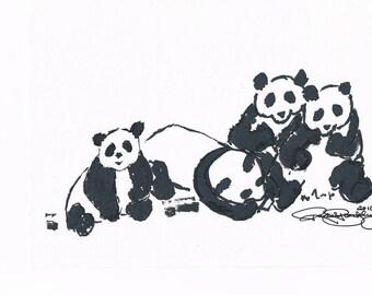 Inky Pandas