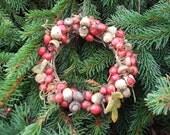 Rosehip and Acorn Wreath