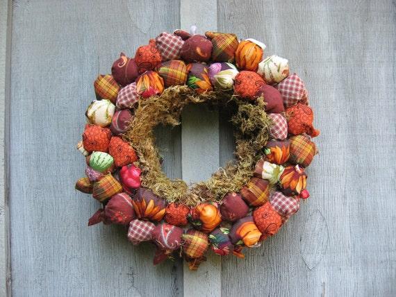 Thanksgiving Bounty Wreath