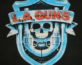 Vintage L.A. GUNS 1988 Tour T Shirt Original xl