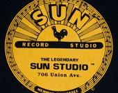 Vintage 80s SUN RECORDS STUDIO T Shirt