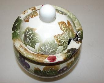 Jelly Jar sugar bowl Nantucket