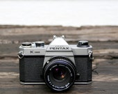 1980's Pentax K1000 Camera with 50 mm SMC-M lens