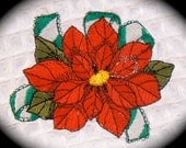 Christmas Poinsettia Cotton Dish Towel that would be a great kitchen gift for someone special.