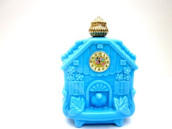 Reserved Perfume Bottle Avon Blue Bird House