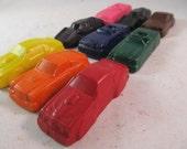 Car Crayons - Auto - Set of 9 - CrayonMavens