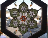 """Reserved for Steven  Semi precious stone and glass mosaic """"STARGATE"""""""