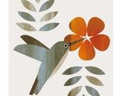 Printable poster Art Hummingbird Wall Art Home Decor / Printable Art / Art Print / Digital Art / INSTANT DOWNLOAD