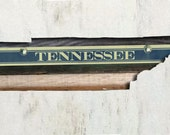 Reclaimed Wood Art - Tennessee