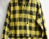 Spiked flannel
