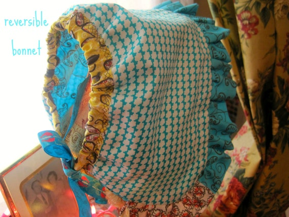 HALF PRICE SALE Baby Bonnet