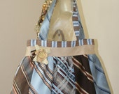 Upcycled vintage tie purse- reserved for Claudia