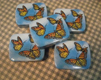 Monarch Butterfly Tin Boxes, Monarch Butterfly Tin, Monarch Butterfly Boxes, Jewelry Boxes, Butterfly Jewelry Box, Jewelry Storage Tin