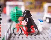 """LEGO Darth Vader Star Wars - """"Everyone's a lover sometime"""" - FREE SHIPPING"""
