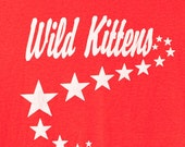 WILD KITTENS 6 - Sweet Red Tshirt