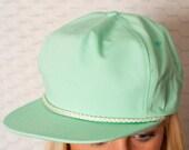 SLICK Seafoam Flat Bill Hat