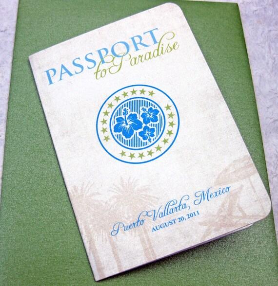 Items Similar To Passport Destination Wedding Invitation