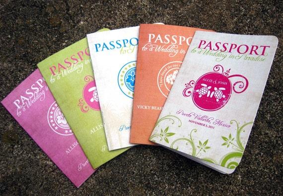 Destination Wedding Invitations Passport: Items Similar To Passport Destination Wedding Invitations