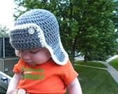 INSTANT DOWNLOAD Crochet Baby Aviator Hat PDF Newborn-12months