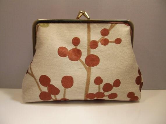 Make up bag, small clutch bag, purse