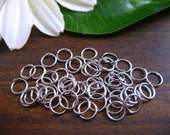 Silver Plated Jump Ring JumpRing Jewelry Making 6mm -  Approx. 500 Pieces