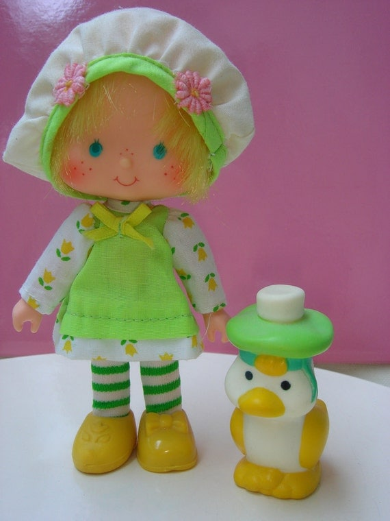 Vintage Strawberry Shortcake Mint Tulip Doll with her by ...