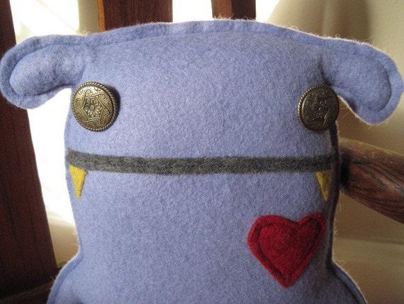 Bohemian Gypsy BoHo Monster Doll Birthday, Steampunk French Baby XL Teddy Bear, Shabby Chic Festival Woodland, Stuffed Women Teen Gift