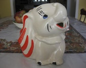 Figural Pitcher,  Dumbo the Elephant, c.1950 Reserved for Kristan