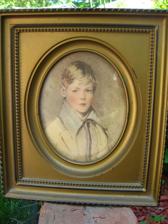 Peter by Sidney Bell, Artist c.1923  C and A Richards Framers, Boston, Mass