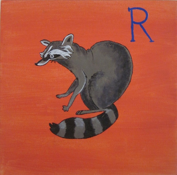 R Is For Raccoon R is for Raccoon. by D...