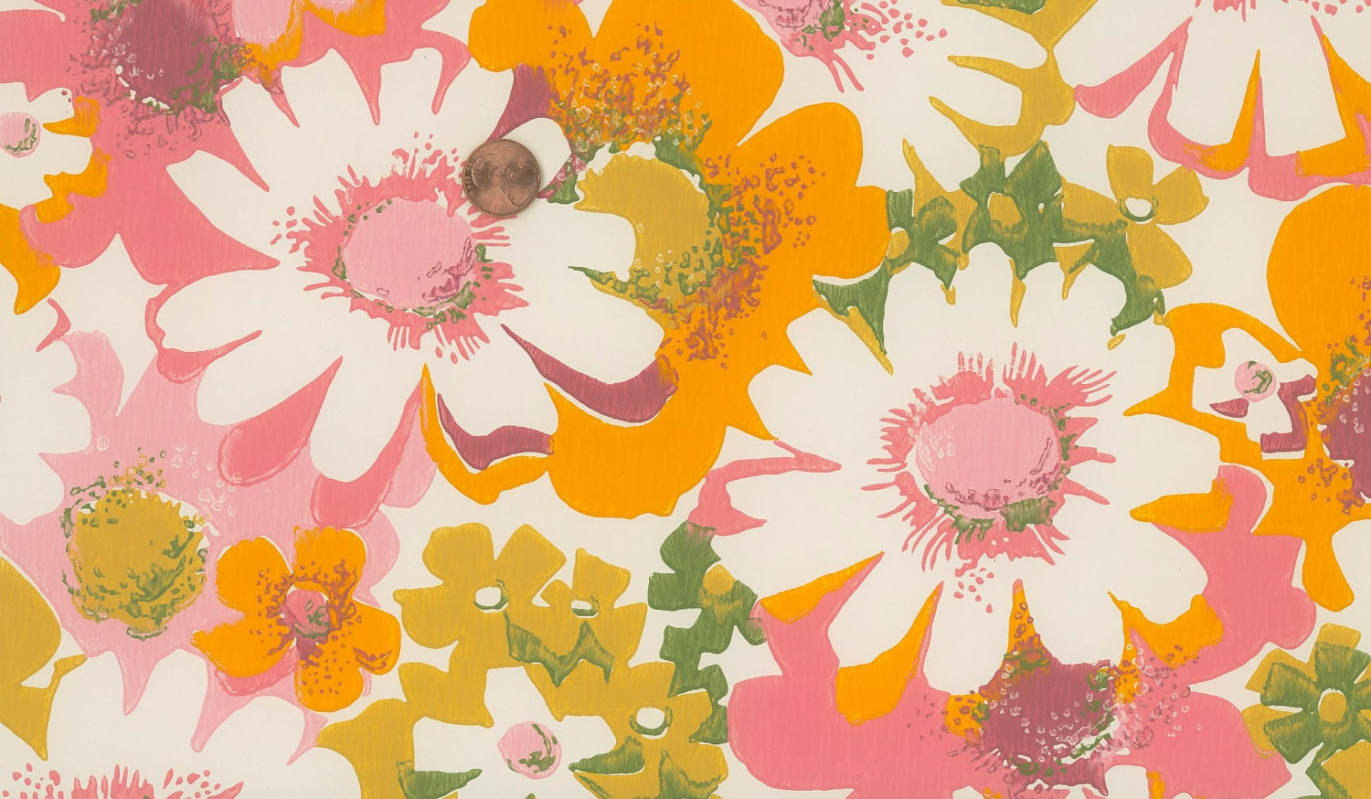 1960s wallpaper viewing gallery
