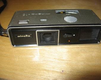 Vintage Minolta-16 camera