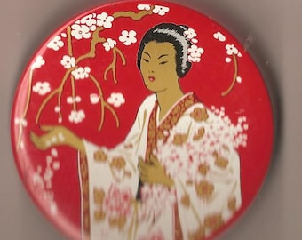 Madame Butterfly typewritter Tin....
