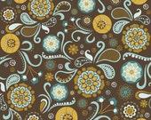 "Riley Blake Designs ""So Sophie"" by Deena Rutter and Jen Allison for My Mind's Eye, Main Brown, SKU C2700, 1 yd"