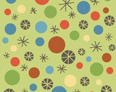 Scoot by Deena Rutter for Riley Blake Designs, Dots Green, SKU C2722, 1 yd