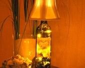 Wine Bottle Lamp - Cupcake Cabernet Sauvignon