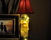 Wine Bottle Lamp - Da Vinci Chianti