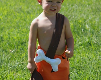 bam bam costume- and clubFlintstone costumes  bam bam  2t 18 12 9  months
