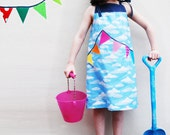 Bunting girls summer beach party dress - wildthingsdresses