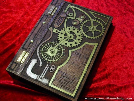 SteamPunk Blank Book, Journal, Diary
