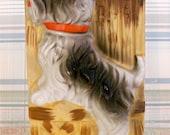 Kitsch Puppy Dog Scottie Wall Pocket