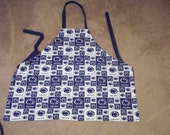 Apron Made from Penn State Fabric