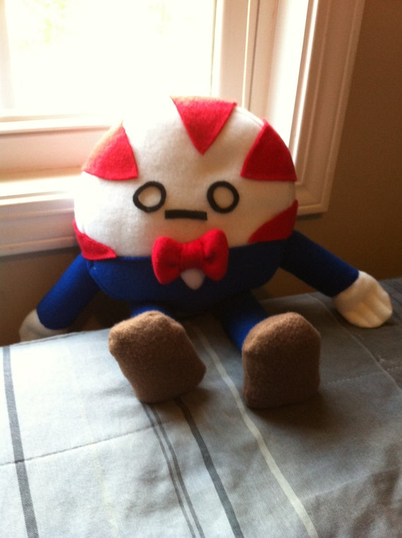 Adventure time inspired plushie- Peppermint Butler